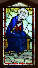 Mary at the Coronation of the Queen of Heaven (Hardman & Co? 1938, from Stowmarket church)
