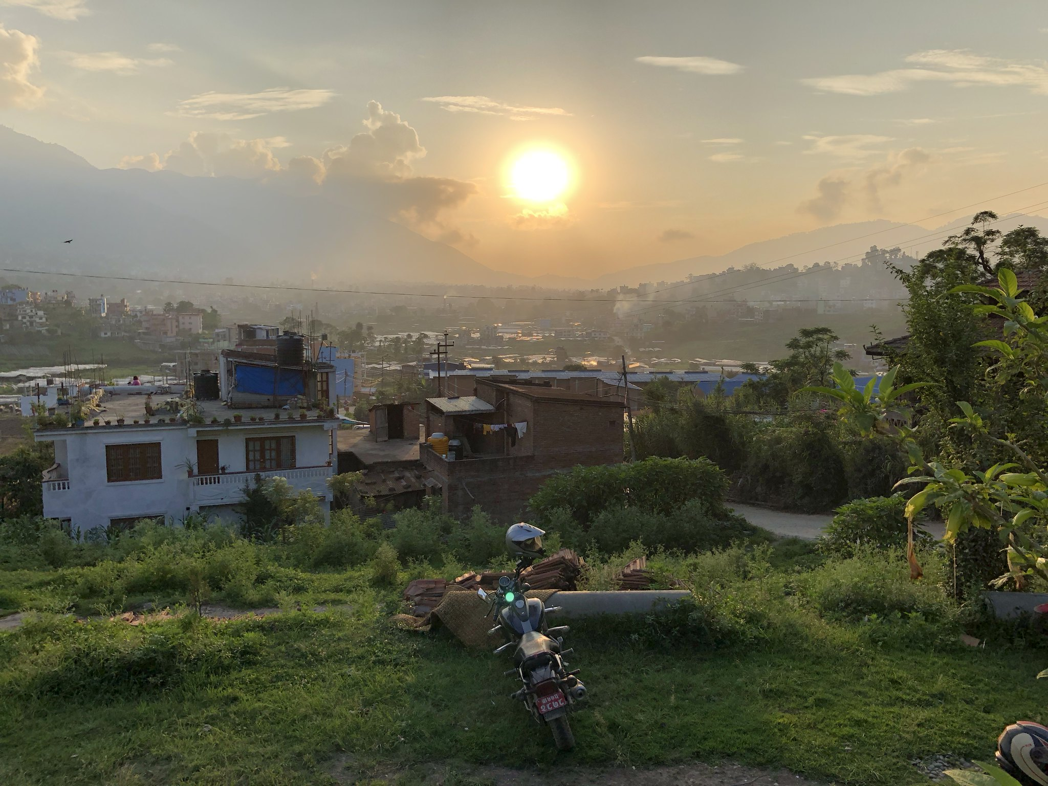 View from Kirtipur