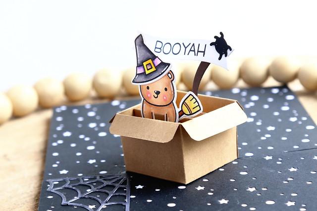 mini pop-up box (Lawn Fawn inspiration week)