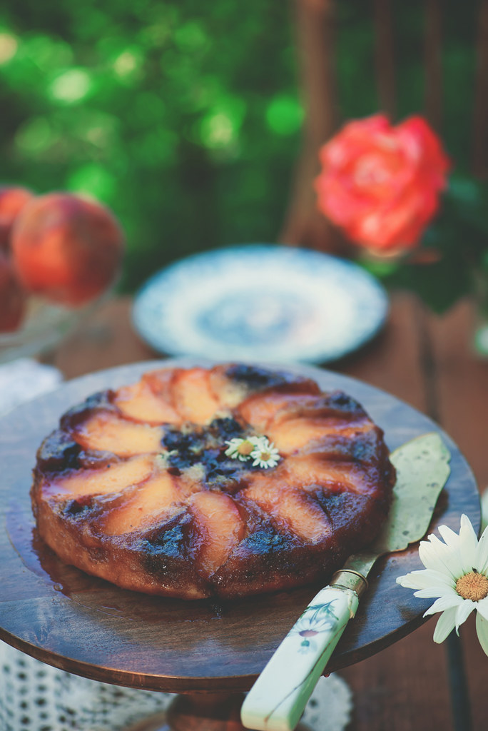 Blueberry & Plum Upside-Down Cakes.2