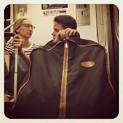 Wednesday afternoon 2 train. #nycsubwayportraits #nyc #train #subway #metro #mta #publictransportation #commute #passenger #stranger #2train