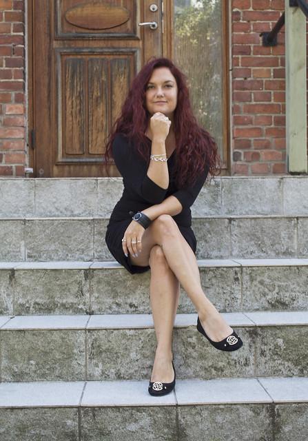 Clara Löfvenhamn från Bossbloggen arbetar både med ledarskapsutveckling och föreläsningar om ledarskap