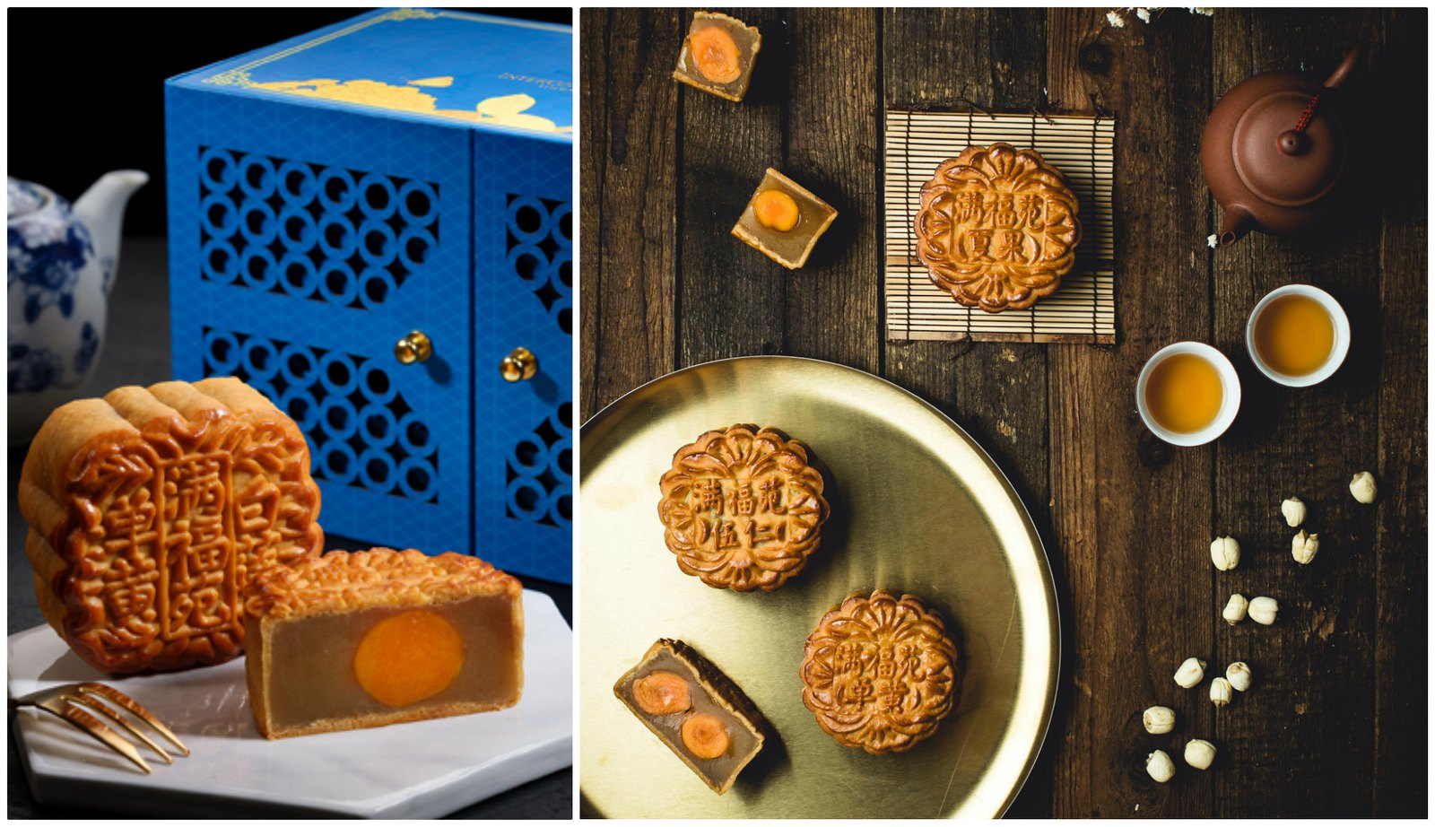 Intercontinental Singapore Mooncakes 2018