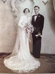 2 Harrold & Muriel wedding 1940