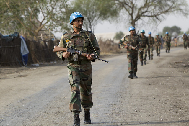 UNMISS Peacekeepers in Pibor, Canon EOS-1D MARK IV, Canon EF 70-200mm f/2.8L IS