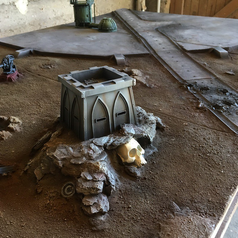 Medal of Colors Imperial Fortress Forge World painting-9