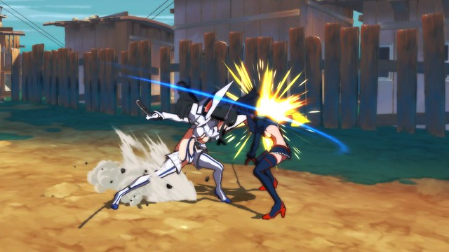 Kill La Kill - Battle Screenshot