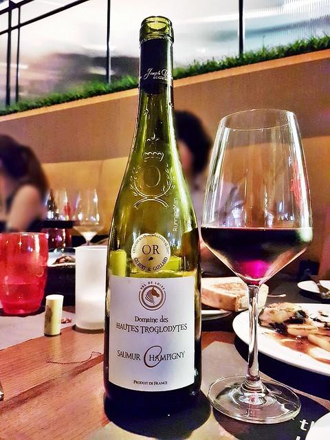 Wine Domaine Des Hautes Troglodytes Saumur Champigny 2016