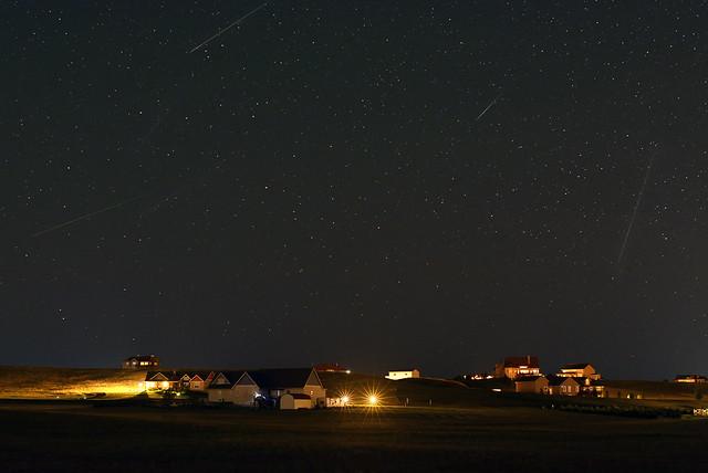 Perseid Meteors: 9 Aug 18