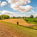 Colorful Dutch landscape with fascinating clouds by RuudMorijn-NL