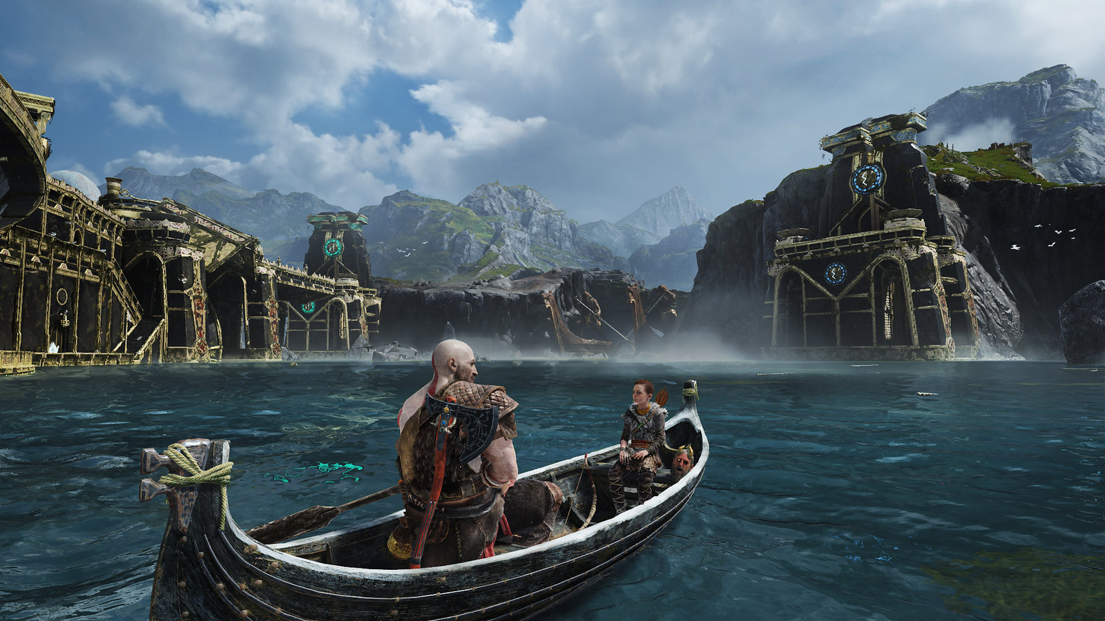Under the Hood of the Boat in God of War
