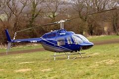 G-BBCA Bell 206B-2 Jet Ranger II [1101] (Heliflight) Cheltenham Raceco