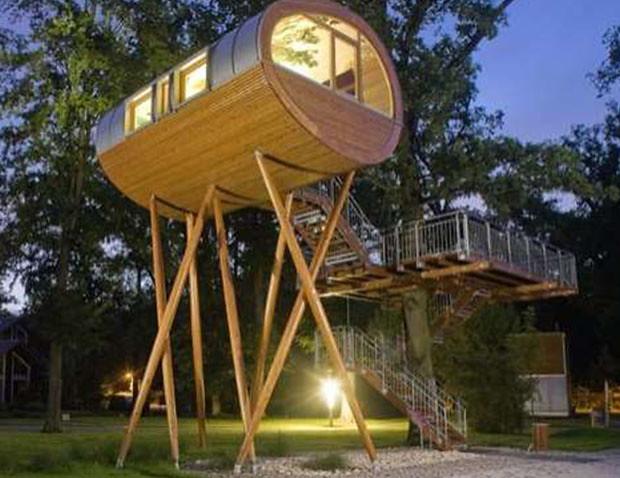 DIY Luxury Tree Houses