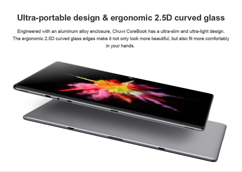 Chuwi CoreBook スペックレビュー (3)