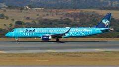 Belo Horizonte - Confins (SBCF/CNF) - AZUL Embraer ERJ 195 PR-AYY