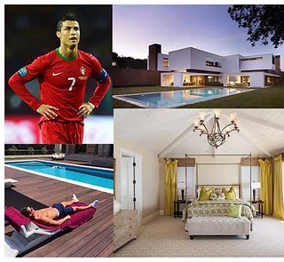Cristiano Ronaldo's swimming pool