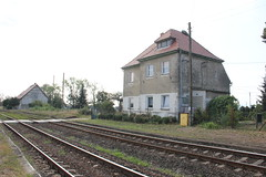 Wójcice train station