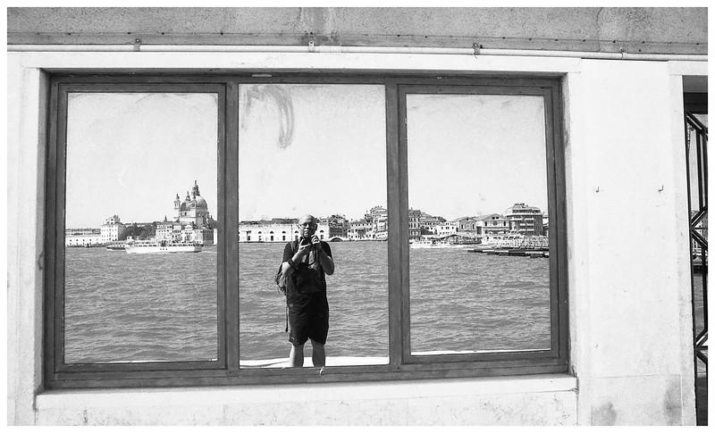 Selfie.  Giudecca