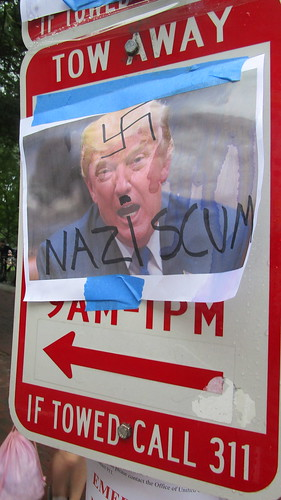 Counter Protesters in Lafayette Square, Washington, DC, August 12,2018