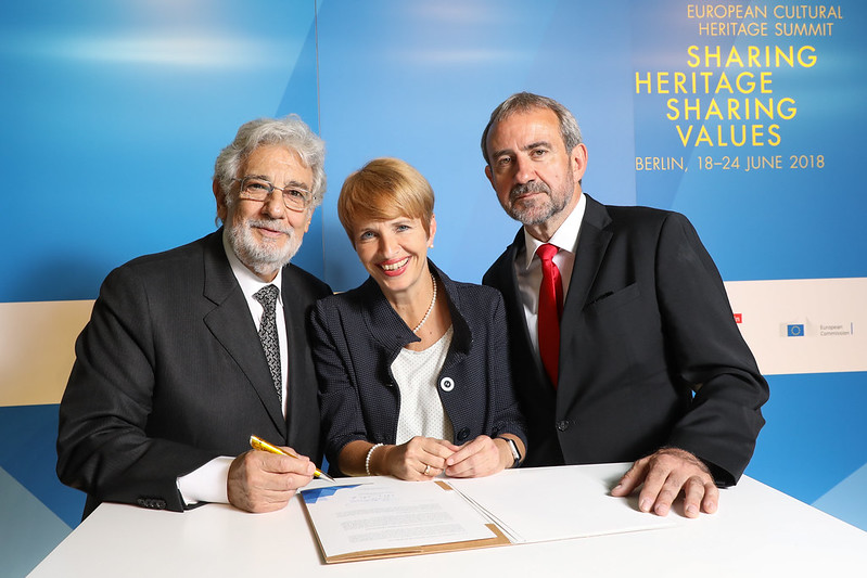 Signature of the Berlin Call to Action by Presidents of the 3 co-hosting organisations of the Summit