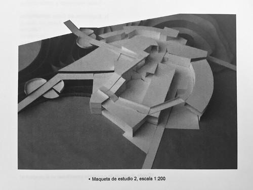 Maquetas de estudio. Proyecto de título arquitectura. EAD PUCV. 2008.