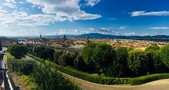 Firenze - Panorami da Piazzale Michelangelo