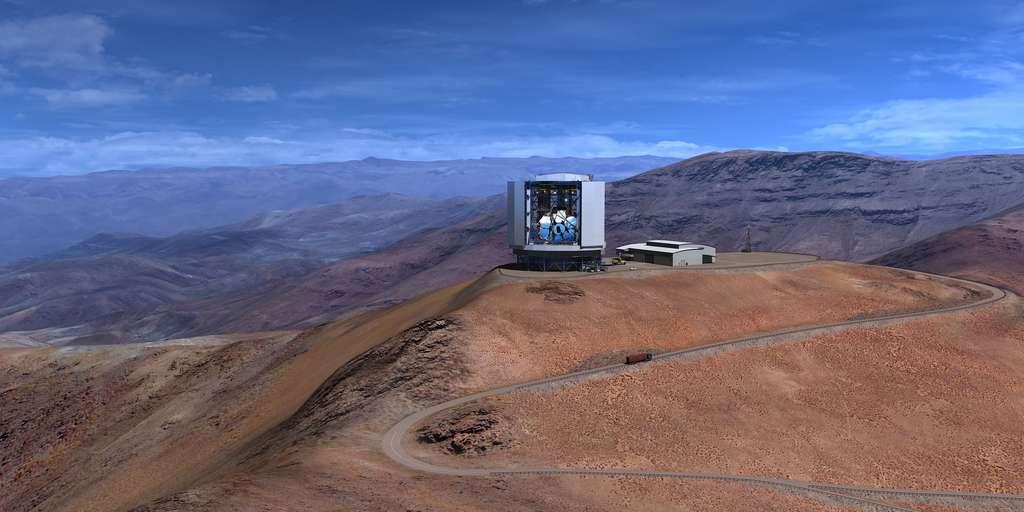 Magellan : le télescope géant est rendu à la phase d'excavation