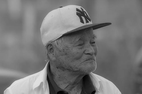 高齢の日本人男性