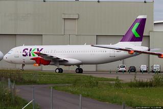 Sky Airline Airbus A320-251N cn 8444 F-WWDY // CC-AZC