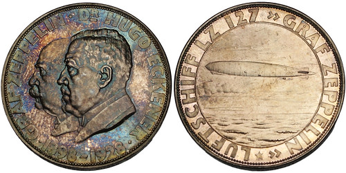 1928 Graf Zeppelin Medal