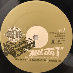 GANGSTARR:THE MILITIA(LABEL SIDE-A)