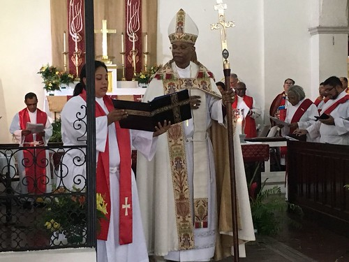 Scenes from the installation of Archbishop Julio Murray as Primate of the Anglican Church of Central America Region - a