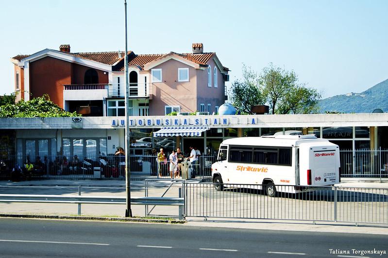 Автобусная станция в Херцег Нови
