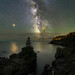 Mars and the Milky Way on the Bold Coast - Shot with a pre-production Nikon Z7! by Adam Woodworth