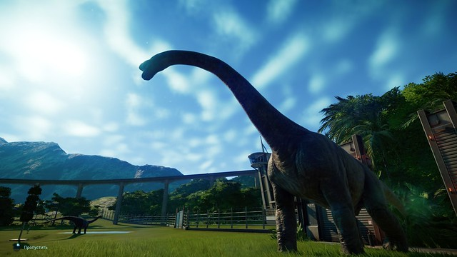 Jurassic World Evolution - Brontosaurus