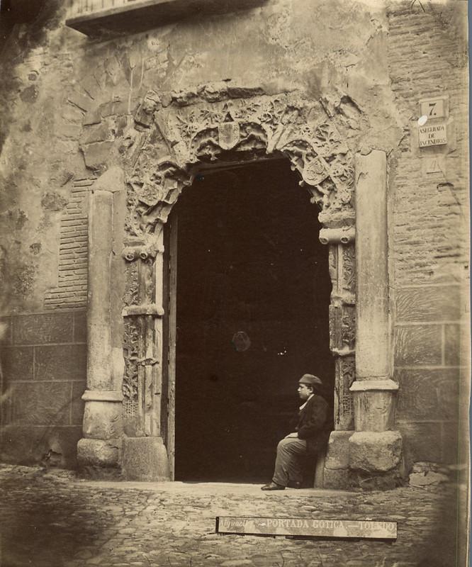 Palacio de Peromoro hacia 1885 por Casiano Alguacil
