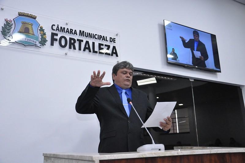 Posse vereador Fábio Rubens (PSL)