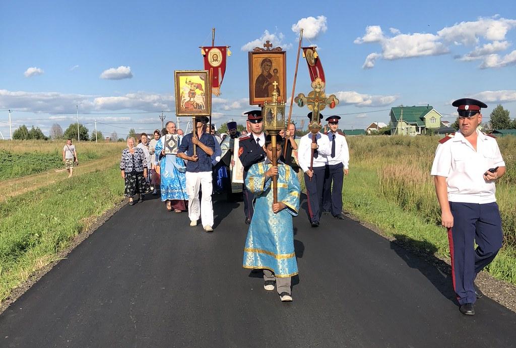 В Вороновском прошли торжества в честь Смоленской иконы Божией Матери