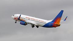 G-DRTA JET2 BOEING 737 NEWCASTLE AM3A8851