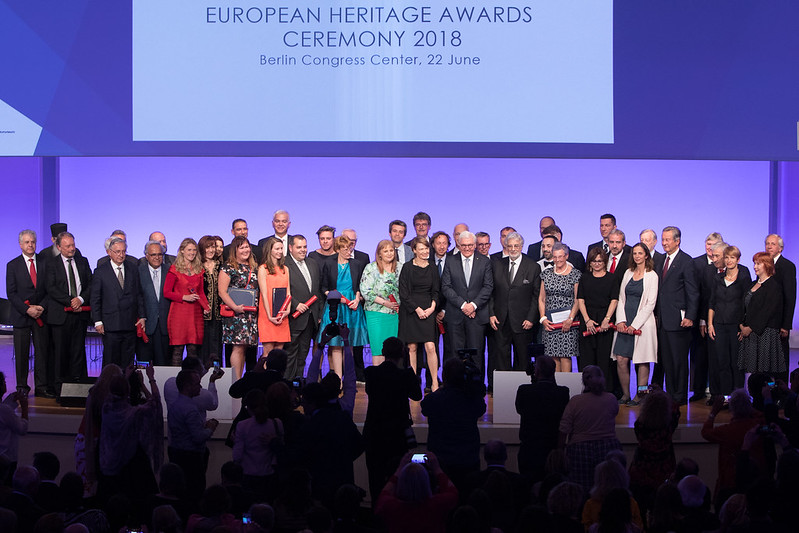 2018 European Heritage Awards Ceremony - Group Photo