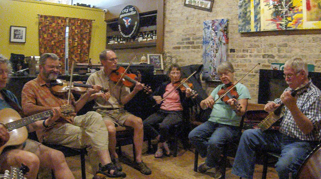Old Time Mountain Music at The Stomping Grounds-005