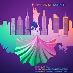 Show your Pride! Join the NYC Drag March! @rupaulofficial send us your Queens! http://www.facebook.com/events/203699730428165 #pride #lgbt #lgbtq #nycdragmarch #dragqueen #dragking