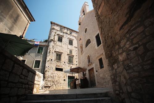 Sebenico: vicoli del centro storico