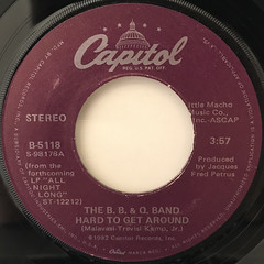 THE B.B. & Q. BAND:IMAGINATION(LABEL SIDE-B)