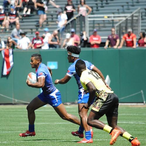 Samoa v Uganda #rugby #rwc7s #attpark