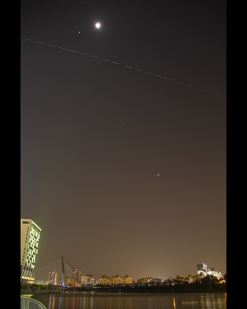 02911def30 ... International Space Station (ISS) flyby over Putrajaya