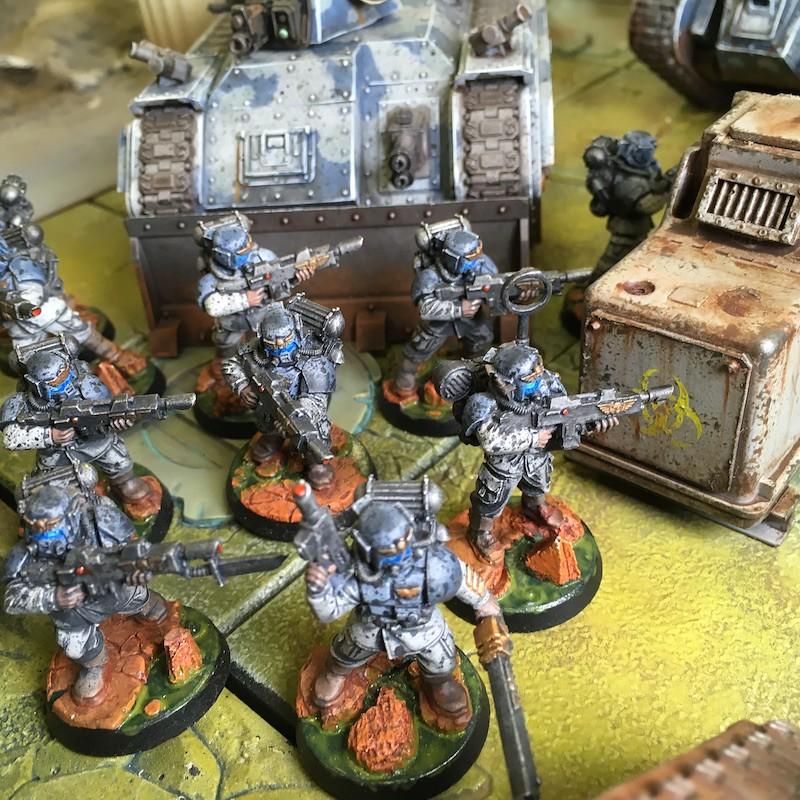 Medal of Colors Indomitus Crusade Armies-28