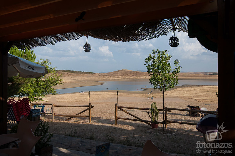 Playa de los Llanos en Esparragosa de Lares