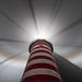 Foggy Night at West Quoddy Head Lighthouse by Adam Woodworth