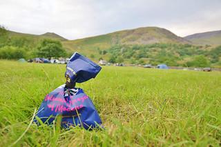 Nant Peris campsite Snowdonia